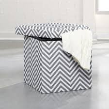 Storage Ottoman White by Amazon Com Sauder Soft Modern Upholstered Storage Ottoman Gray