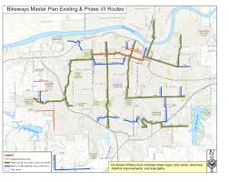 Map Topeka Ks Topeka Bikeways Progress August 2015 Kansas Cyclist News