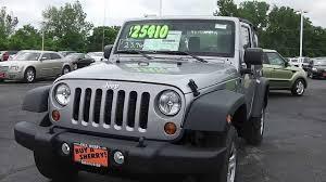 jeep suv 2013 2013 jeep wrangler sport suv silver for sale dayton troy piqua