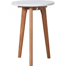 small round oak coffee table small round white marble and oak side table marble furniture