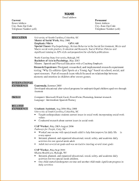 Research Resume Samples Social Researcher Sample Resume