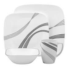 corelle vitrelle kitchen design dinnerware 16 pcs set service cup