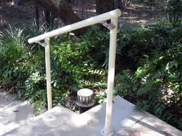 added handrails to outdoor stairs to satisfy home insurance
