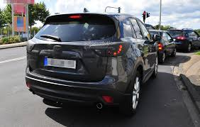 mazda new model 2016 spyshots 2016 mazda cx 5 facelift autoevolution