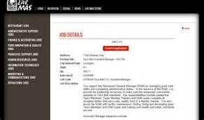 taco bell job application form online curriculum vitae maker