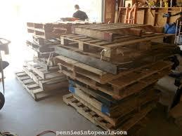 Raised Garden Beds From Pallets - diy pallet wood raised garden beds