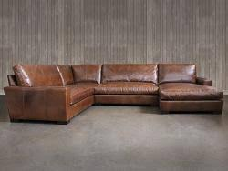 L Sectional Sofa by Deep Leather Sectional Sofas Leathergroups Com
