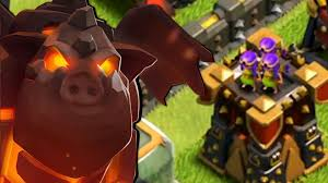 clash of clans hd wallpapers clash of clans lava hound u0026 archer tower 13 game play youtube