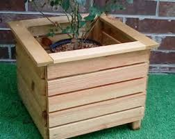 outdoor planter etsy