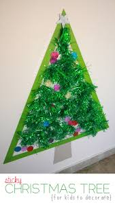 life size sticky christmas tree mama papa bubba