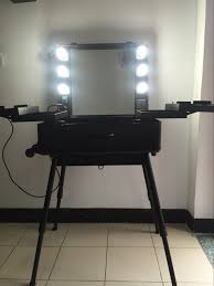 professional makeup station aliexpress buy 6 types makeup artist box with lights