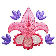 design embroidery floral machine embroidery designs