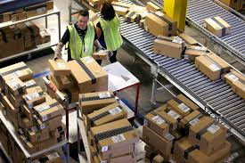 amazon warehouse black friday online sales surpass in store sales on black friday weekend for