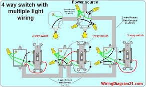 Light Switch Wiring Multiple Light Wiring Diagram Wiring Diagram Collection Koreasee Com