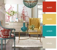 Best Kitchen Color Scheme Images On Pinterest Colors Red - Kitchen and living room color schemes