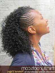 mwahahwk hairstule done using kinky kinky twists and braids kinky twists twists and braids