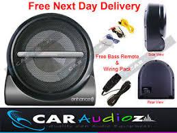 caisson sous siege 20 3cm 20cm voiture audio lifié actif caisson de basse voiture