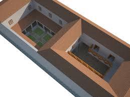 ancient roman villa floor plan roman house floor plan luxihome