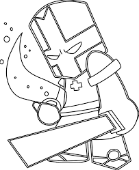 castle crashers coloring pages to download and print for free