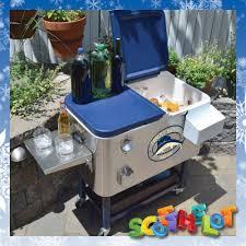 portable outdoor patio garden bbq party wine beer cooler cool ice