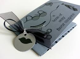 love coupon gift for husband 50 shades of gray inspired coupon