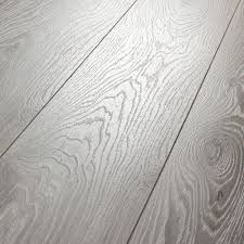 Laminate Flooring With Underpad Attached Natural Wood Grains On A Gorgeous Grey Kronotex Villa Timeless
