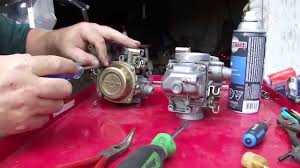 yamaha virago carb disassembly 87 99 youtube