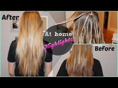 tutorial on how to highlight hair at home using stuff from sally u0027s