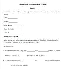 100 producer resume examples web developer resume examples