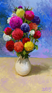 How To Paint A Vase Creativity In Windows 8 With Fresh Paint Windows Experience