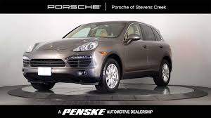 porsche cayenne 2014 black 2014 used porsche cayenne awd 4dr tiptronic at porsche of stevens