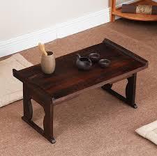 japanese antique tea table folding legs rectangle 60cm paulownia
