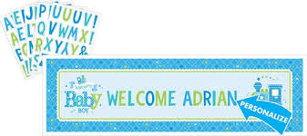 welcome home baby shower welcome baby boy baby shower party supplies party city