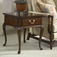 wood end tables with drawers furniture belfort signature belmont chester end table with one
