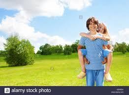 Free Hug Guy Couple Age Kids Ride On Boy U0027s Back And Hug Guy Happy