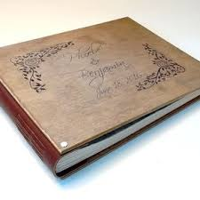 engraved photo albums custom wedding guest books photo albums custommade