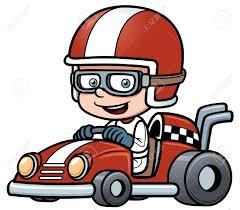 cartoon race car kart racing clipart clipart collection nascar race car clip
