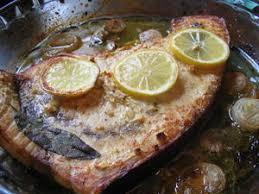cuisiner l espadon espadon grillé au four mes recettes préférées