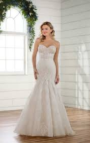silk fit and flare wedding dress wedding dresses gallery essense of australia