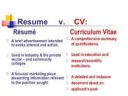 v cv cv resume writing workshop by molly steen