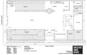 Vancouver Floor Plans Floor Plan Layout Vancouver Urban Winery Places I Want To Go