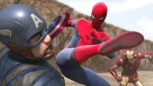civil war iron man vs captain america part1 fight scene feat