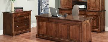 Solid Wood Office Desks Lloyd S Solid Wood Office Furniture Gallery Schomberg