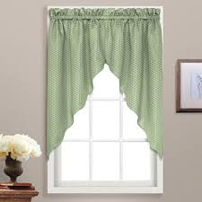 Green Valance Kitchen Valances Green Curtains U0026 Drapes For Window Jcpenney