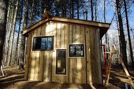 120 sq ft lloyd s blog 120 sq ft writing shack in woods