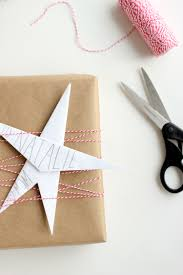 Origami Gift Wrapping Three Easy Kraft Paper Gift Wrapping Ideas