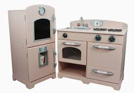 Pretend Kitchen Furniture by Wooden Toy Kitchen Teamson Rose Cottage Childrens Play Kitchen
