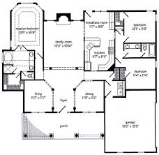 custom home builders floor plans new albany cottage floor plans for new homes home builders