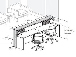 Reception Desk Plan Home Design Reception Desk Dimensions Standards Reception Desk