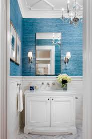 Designer Bathroom Wallpaper by Best 20 Blue Mediterranean Bathrooms Ideas On Pinterest Blue